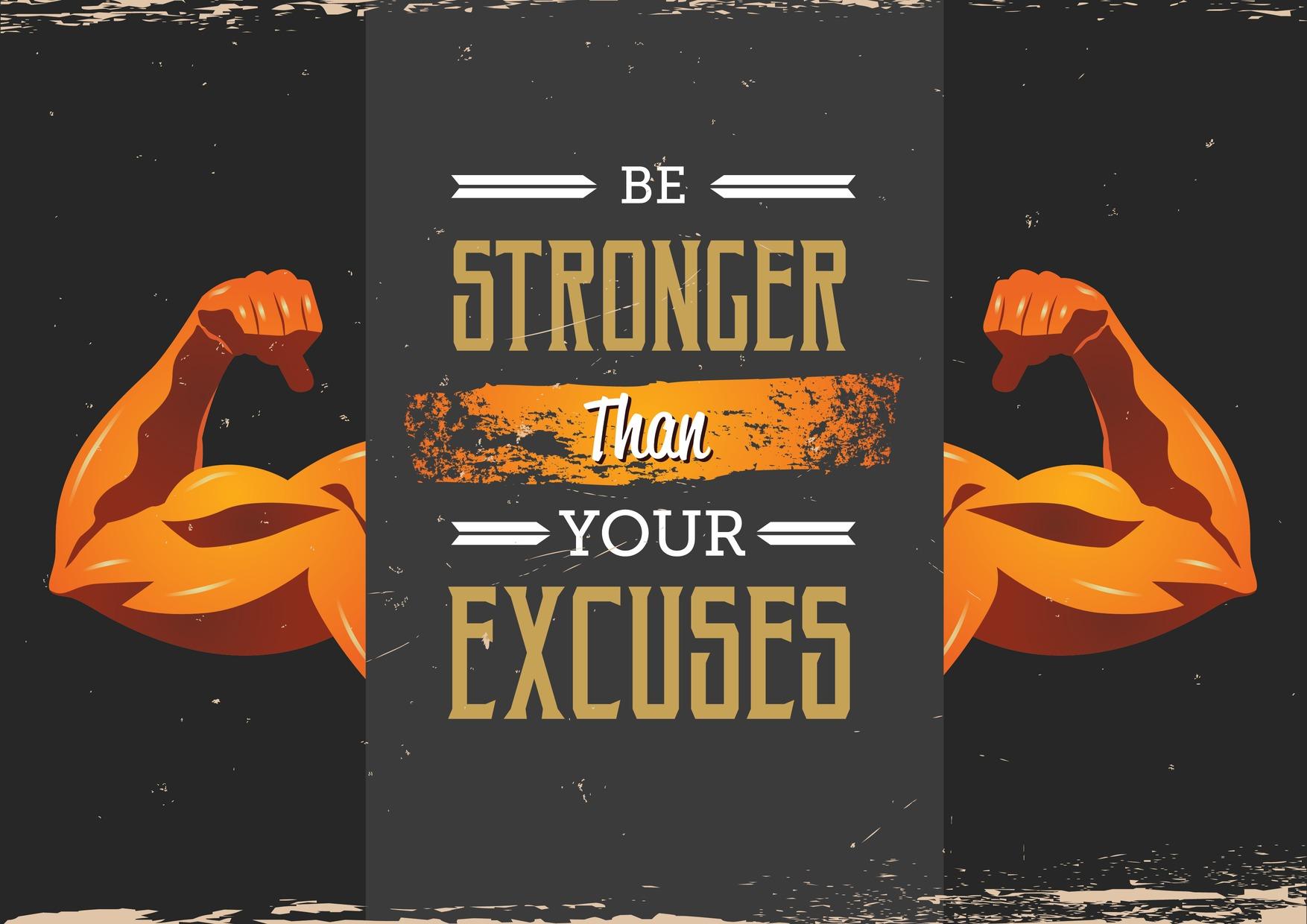 No Excuses For No List!