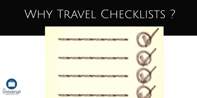 Travel Checklists For 2020