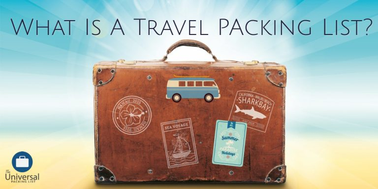 What Is A Travel Packing List?
