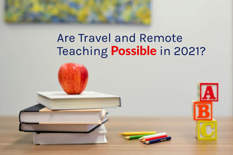Teaching Remotely – Can you travel and teach at the same time?