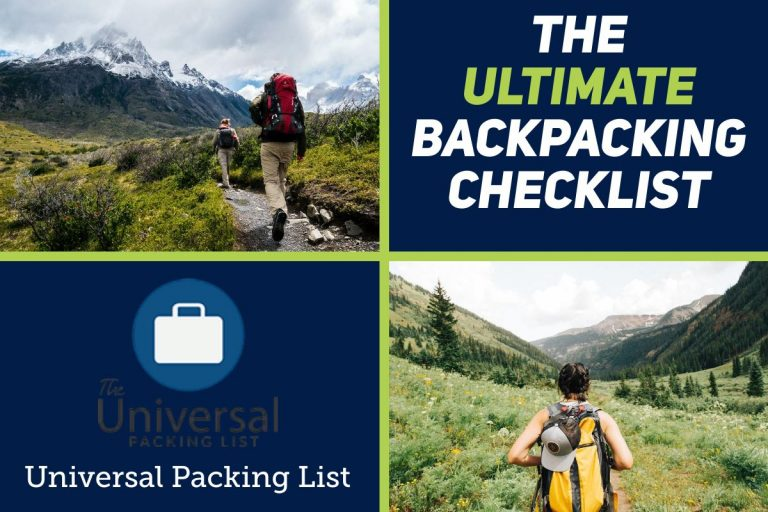 The Ultimate Backpacking Checklist For 2021