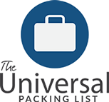 The Universal Packing List – Travel Info